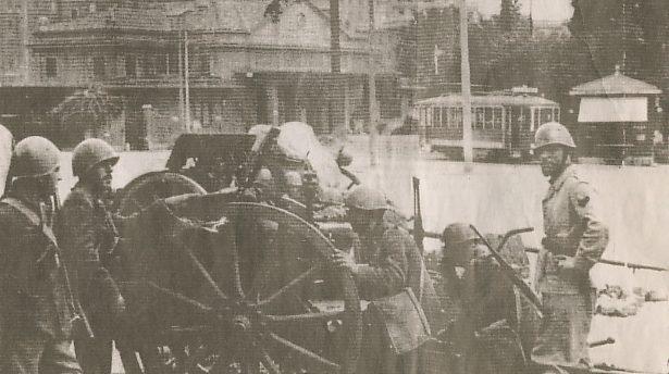 Soldati a Porta San Paolo